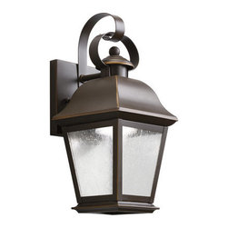 "Kichler - Kichler 9707LED Mount Vernon 13"" Energy Efficient LED Outdoor Wall Light - Kichler 9707LED Mount Vernon LED Outdoor Wall Lantern"