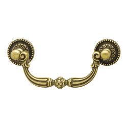 Hafele - Hafele 125.00.102 Brass Drawer Pulls - Hafele item number 125.00.102 is a beautifully finished Brass Drawer Pull.