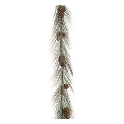 Silk Plants Direct - Silk Plants Direct Long Needle Pine Cone, Pine and Twig Garland (Pack of 3) - Pack of 3. Silk Plants Direct specializes in manufacturing, design and supply of the most life-like, premium quality artificial plants, trees, flowers, arrangements, topiaries and containers for home, office and commercial use. Our Long Needle Pine Cone, Pine and Twig Garland includes the following: