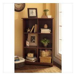 Bush - Bush Cabot 6-Cube Bookcase in Harvest Cherry - Bush - Bookcases - WC3146503 - The Bush ...