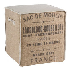 The Sac De Moulin Cube
