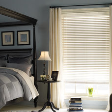 Traditional Venetian Blinds by American Blinds Wallpaper and More