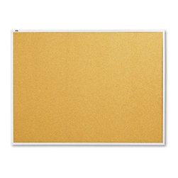 Quartet - Quartet 48 x 36 in. Natural Cork/Fiberboard Bulletin Board with Aluminum Frame M - Shop for Bulletin Boards from Hayneedle.com! Add competence to your office space with the Quartet 48 x 36 in. Natural Cork/Fiberboard Bulletin Board with Aluminum Frame. With this board you can display messages notes and reminders conveniently. Featuring high-quality cork material construction and a sturdy aluminum frame this board is long lasting. Because of its secure mounting system you can easily and quickly install this board. The board is an ideal must-have for its style and utility.About United StationersDedicated to making life in the office more organized efficient and easier United Stationers offers a wide variety of storage and organizational solutions for any business setting. With premium products specifically designed with the modern office in mind we're certain you will find the solution you are looking for.From rolling file carts to stationary wall files every product in the United Stations line is designed with one simple goal: to improve office efficiency. In turn you will find increased productivity happier more organized employees and an office setting that simply runs better with the ultimate goal of increasing bottom line profits.