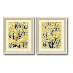 Amanti Art - Early Spring - Set by H. Alves - With Early Spring I & II by H. Alves celebrate the perpetual flowering of your favorite season with these lush spring blossoms in bright creams and gold.