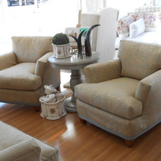 Contemporary Armchairs And Accent Chairs by Quatrine Custom Furniture