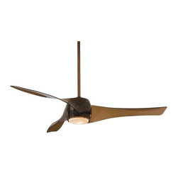 """F803-CPBR Minka Aire F803-CPBR Artemis Ceiling Fan - Get 10% discount on your first order. Coupon code: """"houzz"""". Order today."""