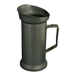 1/2 Liter - Consigned Vintage French 1/2 Liter Pewter Cup - Product Details