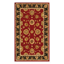 "Dynamic Rugs - Dynamic Jewel 70230-339 Red 7'10"" Round Area Rugs - Dynamic Jewel 70230-339 Red 7'10"" Round Area Rugs"