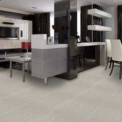 Eleganza Tiles Malibu Glazed Rustic Porcelain Tile - This porcelain tile reflects the beauty and softness of sandstone. With its linear qualities, and look, you get all the benefits of porcelain with the beauty of natural stone.
