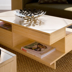 Eco Friendly Bamboo Coffee Table