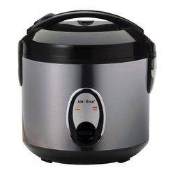 Sunpentown - Sunpentown SC-1201S 6 Cup Stainless Body Rice Cooker Multicolor - SC-1201S - Shop for Rice Cookers and Steamers from Hayneedle.com! Get out the cookbook because options abound with the Sunpentown SC-1201S 6 Cup Stainless Body Rice Cooker at your disposal. This rice cooker is compact and easy to use with its one-button operation.Features: Automatic keep-warm system for up to 5 hours Cool-touch exterior Convenient carrying handle Air-tight lid locks in moisture and flavor Cook and Keep Warm indicator lights Removable non-stick inner pot with Teflon coating Condensation collection cup Safety lock button 6-cup model: 500 watts 10.6L x 10.6W x 10.6H inches About SunpentownSunpentown International designs and manufactures small home appliances for convenient kitchen use. Sunpentown is the largest single producer of induction cooktops in the world controlling over 70% of the domestic market. Aiming to stay at the forefront of induction technology Sunpentown is proud to introduce a new line of uniquely competitive built-in and Wok induction cooktops to appeal to the increasingly global market of the 21st century.