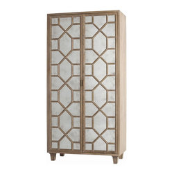 Arteriors - Arteriors 5235 Remington Veneer/Wood Mirror Cabinet - Arteriors 5235 Remington Veneer/Wood Solids Mirror Cabinet