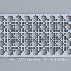 Contemporary Screens And Room Dividers by Fretworks Designs, LLC