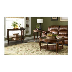 Homelegance - Schiffer 3-Piece Occasional Table Set - Includes sofa table, cocktail and end table