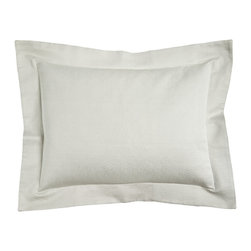 Matouk - Standard Lugano Matelasse Sham - WHITE/SILVER (STANDARD) - MatoukStandard Lugano Matelasse ShamDesigner About Matouk:The son of a jeweler John Matouk understood the principles of fine workmanship and quality materials. After studying fine fabrics in Italy he founded Matouk in 1929 as a source for fine bed and bath linens. Today the third generation of the Matouk family guides the company whose headquarters were relocated to the United States from Europe during World War II. Matouk linens are prized worldwide for their uncompromising quality and hand-finished detailing by skilled craftsmen.