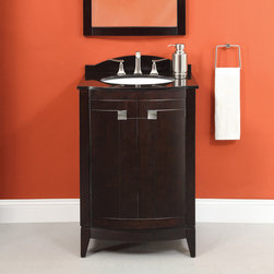 Deco Lav® Bathroom Furniture Gavin Collection - The trend setting design of this collection is ideal for any bathroom design aesthetic. Ample storage space