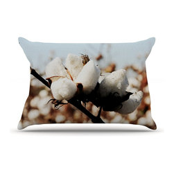 """Kess InHouse - Beth Engel """"Southern Snow"""" Cotton Pillow Case, Standard (30"""" x 20"""") - This pillowcase, is just as bunny soft as the Kess InHouse duvet. It's made of microfiber velvety fleece. This machine washable fleece pillow case is the perfect accent to any duvet. Be your Bed's Curator."""
