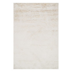 """Loloi Rugs - Loloi Rugs Mason Shag Collection - Ivory, 7'-9"""" x 9'-9"""" - Hand-tufted in India of 100% polyester, the Mason Shag Collection offers an irresistibly soft feel to glide your feet across. Available in a multitude of on-trend colors, Mason Shag instantly adds comfort and style to a family room, bedside, and more - all at an affordable price."""