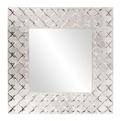 Vincenso Quatrefoil Mirror - 35W x 35H in. - About the Howard Elliott Collection.The Howard Elliott Collection is one of the premiere manufacturers of decorative mirrors and accessories in the home furnishings industry. Howard Elliott offers innovative designs in a wide variety of styles, and the company prides itself on its high standards and quality. No matter your style, the Howard Elliott Collection offers pieces that are sure to add sophistication and luxury to your decor.In the company's meteoric rise, it now ships to nearly 3,500 furniture, home furnishings, and lighting retailers as well as many of the top contract companies servicing the hotel and building industries worldwide.