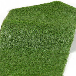 Frontgate - Artificial Turf Roll Christmas Decor - Handcrafted of the finest materials for the most realistic look possible. Constructed with durable UV-resistant materials. Suitable for indoor or outdoor use. Comes with drain holes in backing. Refresh your setting with our bright green Artificial Turf Roll. Soft underfoot and extremely durable, this UV-resistant turf is easy to work with and hassle-free. Our lifelike grass is great for decks, patios, yards, parks, picnics, camping, boats and many other outdoor uses.  .  .  .  .