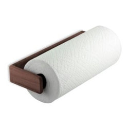 Waterbrands Llc - Teak Paper Towel Holder in Wall Mount - This solid teak paper towel holder provides a beautiful finished look to your galley or kitchen. Constructed with 100% Solid Teak.
