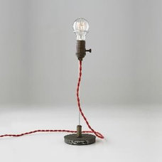 eclectic table lamps by Schoolhouse Electric