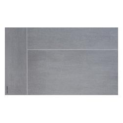 "Iris - Iris Porcelain Tile - 6""x24"", Brushstroke - Nickel Stroke - Sold per Square Foot"