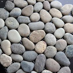 Pebble Mosaic PR06G - ROUND PEBBLE MOSAIC PR06G