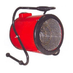 WORLD MARKETING - 240V WORKHORSE HEATER 4000W - Color=Red  This item cannot be shipped to APO/FPO addresses.