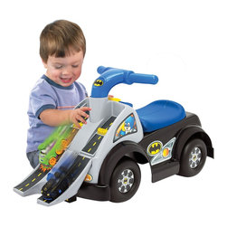Fisher-Price DC Friends Wheelies Batman Ride-On - Free Shipping - Safe, durable engineering and construction