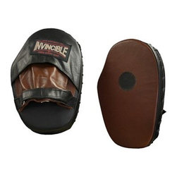 Invincible Pro Classic Mitts - Hit up your training sessions with Invincible Pro Classic Mitts in your gym bag. These mitts are constructed of durable leather and feature hook-and-loop closures. The sweat-resistant lining help keep mitts dry and smell free.Manufacturer's warranty included- see Product Guarantee for complete details.About Amber Sporting Goods Inc.Dedicated to bringing athletes and enthusiasts the best in training equipment for a variety of competitive sports Amber Sporting Goods offers everything from boxing accessories to kickboxing equipment from martial arts training products to soccer goods. No physical training stone is left unturned as Amber Sporting Goods strives to create the market's threshold for quality and innovation. From karate to boxing Amber Sporting Goods has you covered.