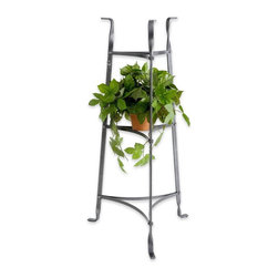 Enclume - Enclume 3-Tier Plant Stand - Baking racks are for baking ... and cookbooks and pots and pans. A plant stand is for plants. And this one will show off your favorite foliage while allowing air and light to circulate around the plants.