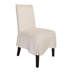CHAIRS - Armless Slipcovered DIning Chair