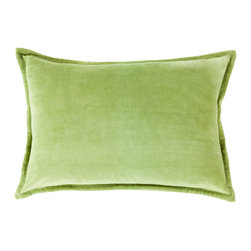 """Surya - Surya CV-001 Smooth Velvet Pillow, 22"""" x 22"""", Down Feather Filler - While simplistic in design, the effortless effect these dazzling pillows will have in your space will be anything but that! With a classic, solid design that shines in its smooth construction, this piece will create a transitional, yet flawless look from room to room in any home decor. Genuinely faultless in aspects of construction and style, this piece embodies impeccable artistry while maintaining principles of affordability and durable design, making it the ideal accent for your decor."""