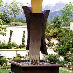 First Flight Water Sculpture Fountain - First Flight Water Sculpture Fountain by Artmetallique.com artist Archie Held. Inquire at http://artmetallique.com/contact/