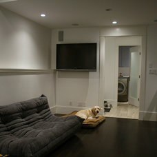 Modern Basement by Marino General Contracting Ltd