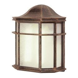 Trans Globe Lighting - Trans Globe Lighting 4484 RT Outdoor Wall Light In Rust - Part Number: 4484 RT