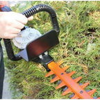Core Hedge Trimmer - Trim your hedges quickly and easily with the Core Hedge Trimmer. Perfect for precision cutting or heavy trimming, this hedge trimmer features 3200 strokes per minute, weighs only 11 pounds with the power cell, and has a 22-inch, dual-sided reciprocating blade. Ideal for small and large hedges alike, this trimmer helps to make yard work a bit easier. Additional Features 3200 strokes per minute Blade measures 22L inches Runs up to 90 minutes for continuous use Weighs 11 pounds with power cellAbout CORE Motion, Inc.An Acronym for Conductor Optimized Rotate Energy, CORE technology is made to replace the heavy wire wound motors used for years with an innovative, multi-layered printed circuit board (PCB). Capable of producing high torque rotary motion at high efficiencies and power densities, this technology gives you all the power you need in a lightweight, zero-emissions package. Founded by Matt Jore and Lincoln Jore, a father and son team, along with a talented group of engineers, CORE Motion, Inc. continues to make strides in technology and has most recently come out with a hybrid power cell which is capable of storing and delivering unprecedented amounts of power in very small packages while being environmentally clean.