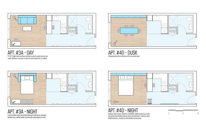 Contemporary Floor Plan My Micro NY