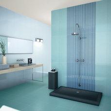 Modern Tile by Designer Tile Plus