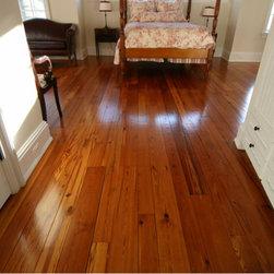 Reclaimed heart pine antique heart pine wide plank flooring