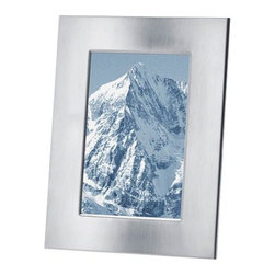 Blomus - FRAMY Photo Frame by Blomus - Remember important moments without taking away from the image with the simple Blomus FRAMY Photo Frame. Made of stainless steel in a matte finish, FRAMY is a handsome addition to modern office desks, nightstands and mantles. Available in several sizes to properly display any memory. Blomus, headquartered in Germany, specializes in the design and manufacture of beautifully engineered home and office accessories in modern stainless steel styles.