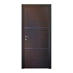 """Tocco Moderno, 32"""" X 80"""", Soss Invisible Hinges, Pre-Hung - Tocco MODERNO Interior Door"""