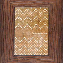 Lightaccents - Home Accents Wooden Picture Frame / Photo Frame 5 x 7 Inches (Gold/Bronze) - Part of the Home Photo Frame Collection