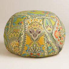 Eclectic Floor Pillows And Poufs by Cost Plus World Market