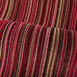 Haendel Stripe Upholstery in Bouquet - Haendel Stripe Upholstery in Bouquet Purple & Green Stripe. A trevira CS velvet stripe in fun colors. Durable and Flame resistant. Perfect for residential and commercial settings.
