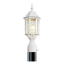 Joshua Marshal - One Light White Post Light - One Light White Post Light