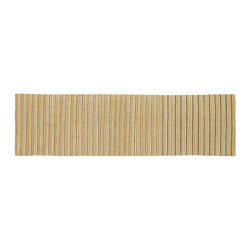1800-Get-A-Rug - Hand Knotted Rug Striped Modern Gabbeh Runner Sh9314 - About Modern & Contemporary