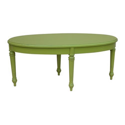 Trade Winds - New Trade Winds Coffee Table Green Painted - Product Details