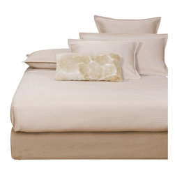 Howard Elliott - Microsuede King Platform Bedroom Set (Kit & Cover) - Convert a basic Boxspring into a Platform Bed using HECs Boxspring Slip-cover & Frame Support. Simply fasten the Frame Support to your current Boxspring then slip on the cover (included). It really is that easy! Boxspring Mattress sold separately. Includes frame supports, hardware, feet & cover. Fits most standard size boxspring mattresses. Sandstone faux suede cover provides the perfect base for your bedding. Finish the look by adding 10 of the Microsuede Sandstone Pixels #PB2-726.